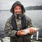 Lillebælt leverer havørreder i øjeblikket – se hvor der fanges fisk.