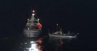To lystfiskere reddet i Østersøen