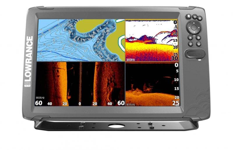 Lowrance HOOK2-12 TripleShot product front facing renders 8-17_20790