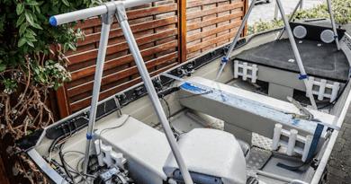 Beskyt båden med et båd/dækstativ