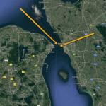 Netop nu! Jagende tun-fisk i Øresund