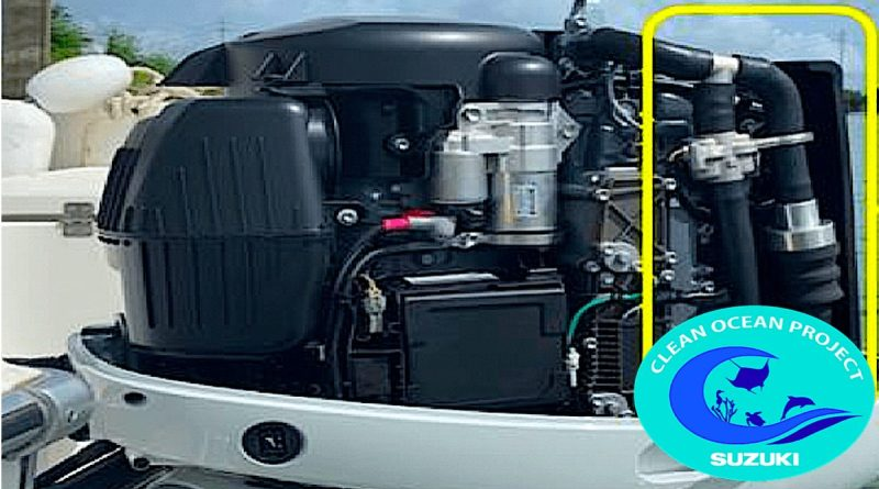 Suzuki påhængsmotorer forbedrer havmiljøet