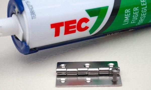 TEC7 fugemasse er perfekt til lime- og fugning af båden