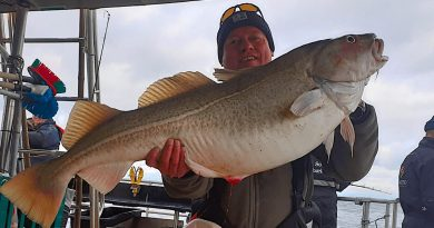 20 kilos torsk skyder vintersæsonen igang