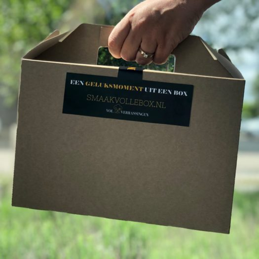 Smaakvollebox - geluksmoment - box