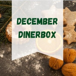 December - dinerbox - kerst