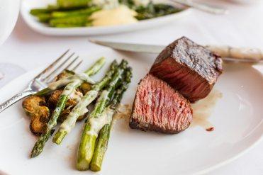 John Howie Steak, zabutan 8oz medium rare