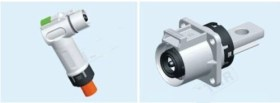 HVC 90° 1POS 10mm Connector (250A series)