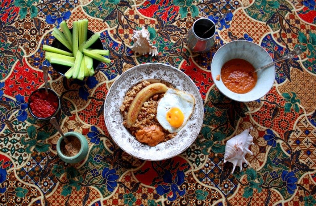 Nasi Goreng – recept med kolonial historia