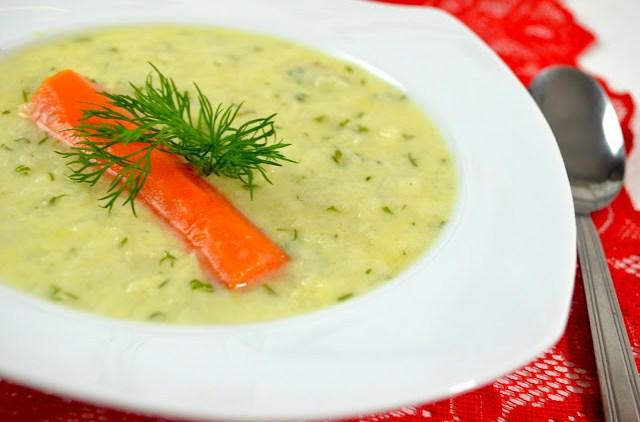 Zupa koperkowa z ryżem + film
