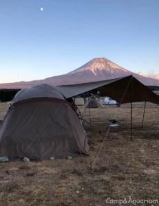 赤富士とトルテュproとスクエアエヴォpro小川張り