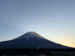 富士山初日の出
