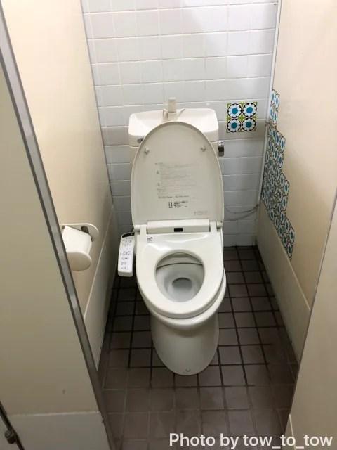 赤城山オートキャンプ場 トイレ