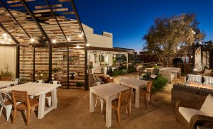 Homepage-Small Barn Modern Bistro- outside seating