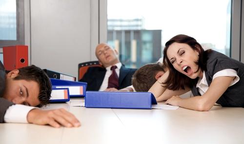 survive a boring meeting