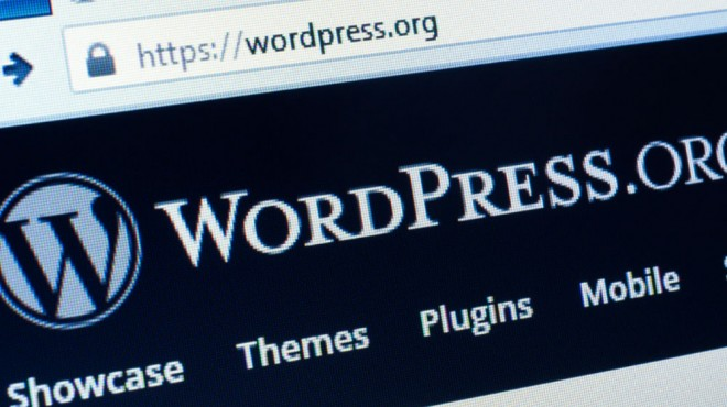 wordpress home