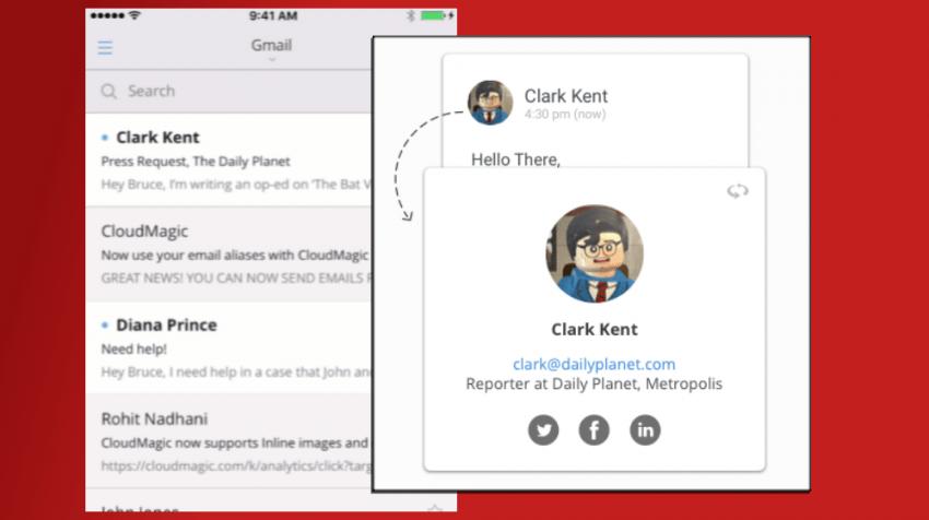 """CloudMagic eMail App Tells You """"More"""""""