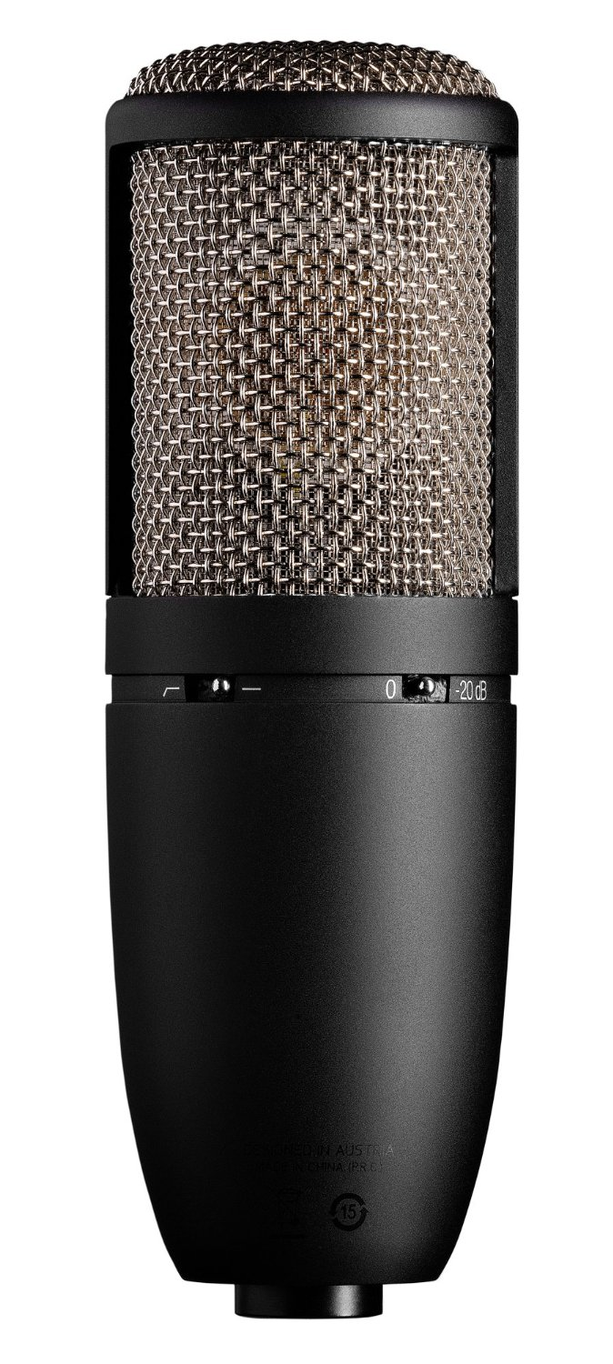 Best Budget Microphones for Podcasting - AKG P420 High-Performance Dual-Capsule True Condenser Microphone