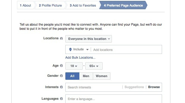 How to Create a Facebook Business Page - Determine Your Target Audience