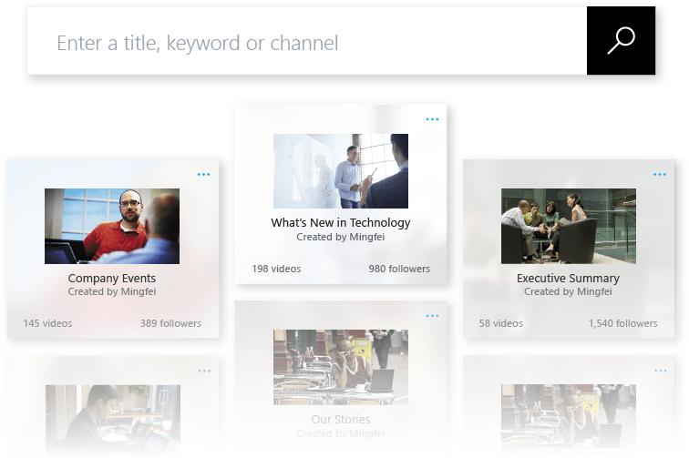New Enterprise Video Solution Microsoft Stream - Everything is Organized
