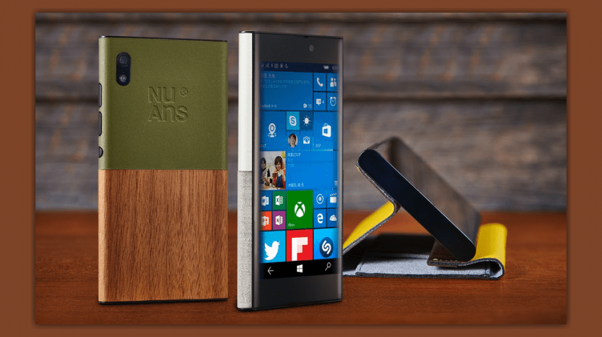 New Windows 10 Phone, NuAns Neo, Launched on Kickstarter
