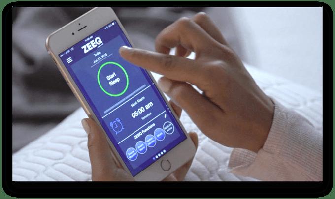 ZEEQ Smart Pillow Phone App