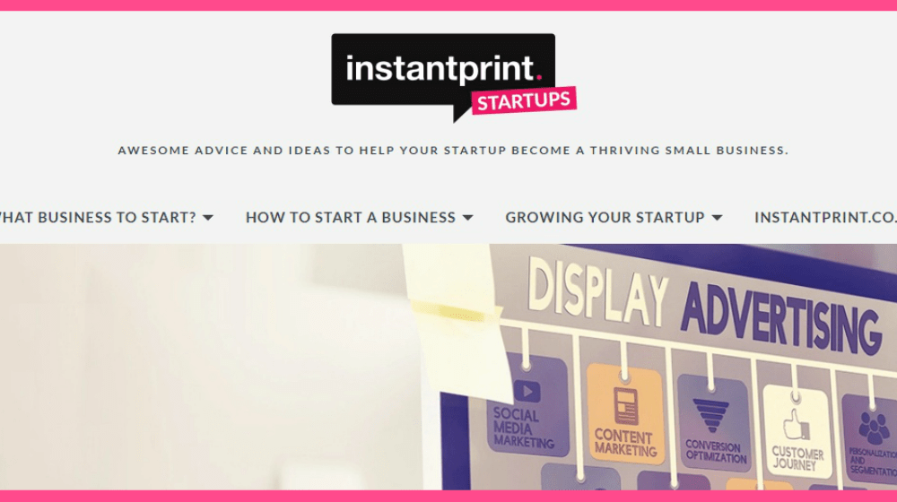 Need Small Business Advice? Visit the New Instantprint Startup Hub