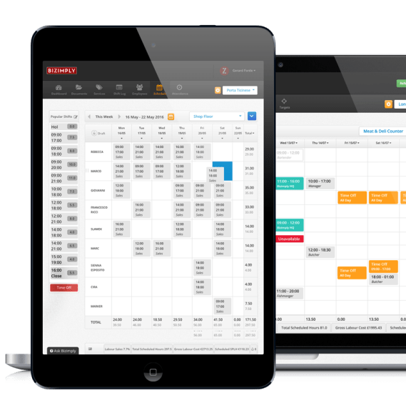 20 Employee Scheduling Software Solutions for Small Businesses - Bizimply