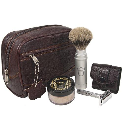 25 Travel Accessories for Men - Parker Travel Shave Kit