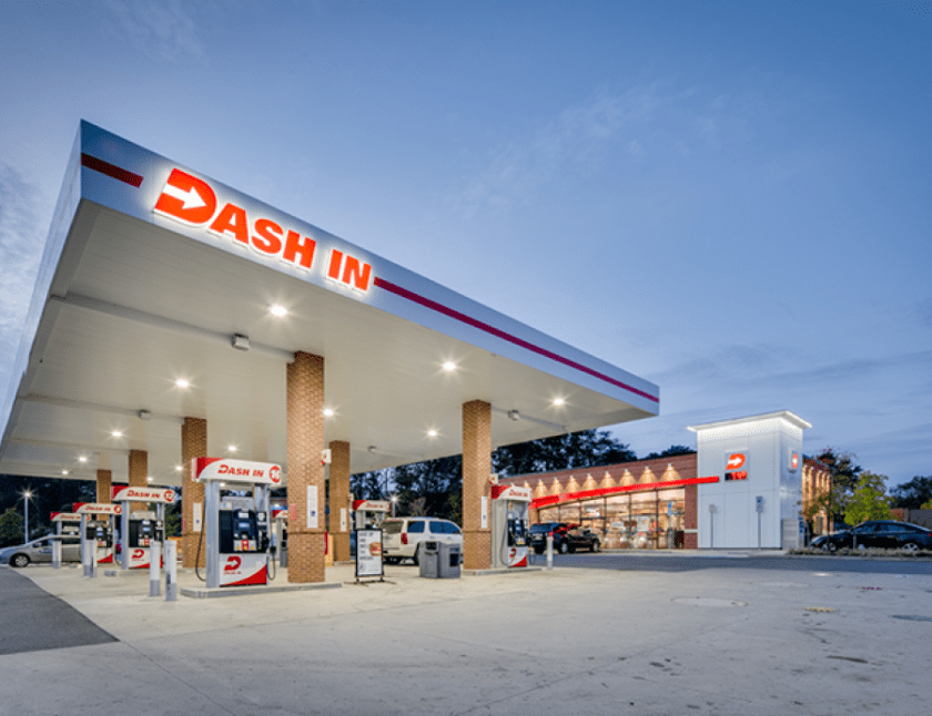 16 Gas Station Franchise Businesses - Dash In