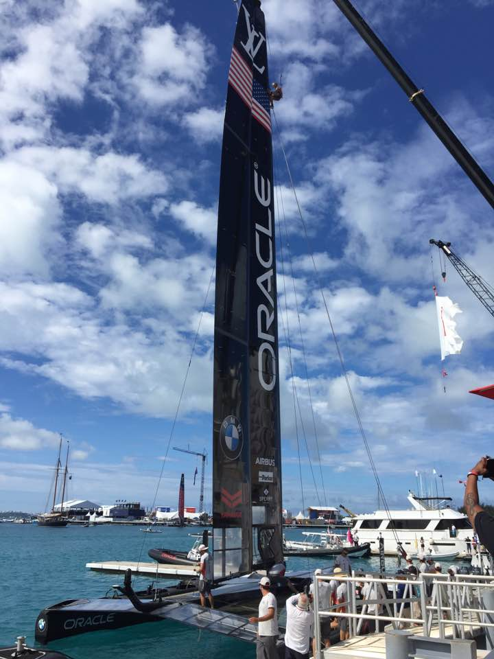 Benedict of Oracle Team USA: How to Use Sensors, Data, Drones, and Video to Create Realtime Data Driven Strategies for the America's Cup