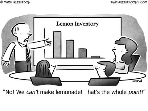 Idiom Business Cartoon