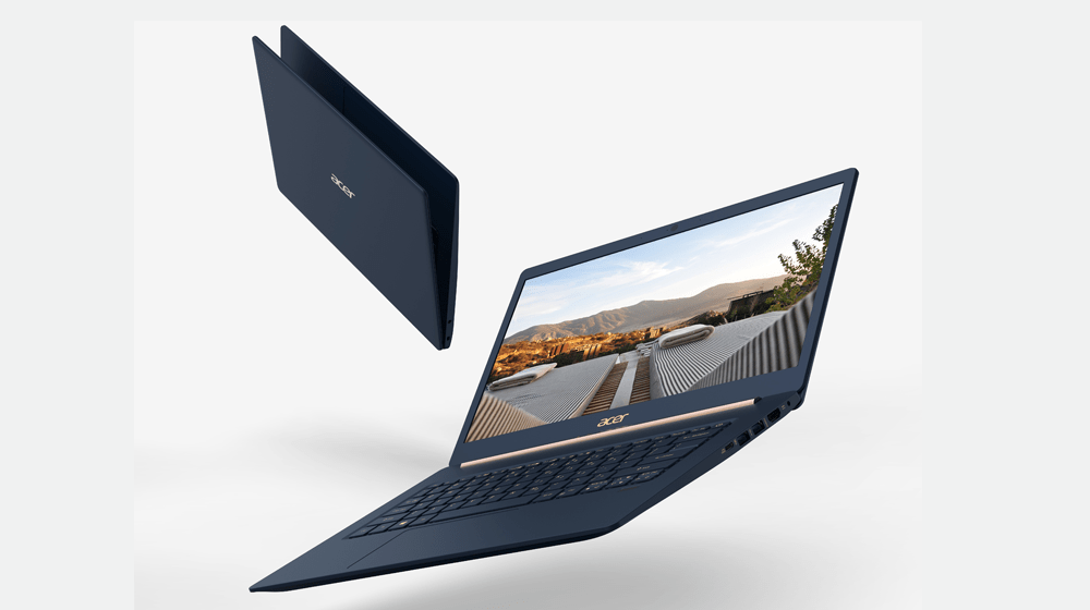 """Acer Swift 2018 Models: Acer Swift 5 and Swift 3 -- Hefty Price on """"World's Lightest"""" (But Powerful) Laptops"""