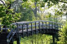 clun wooden bridge