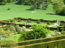formal gardens powis castle
