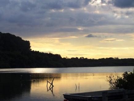 Ranworth Broad at sunset