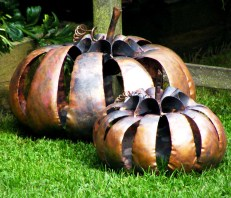 Copper Pumpkins