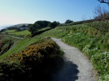 The footpath to the Point