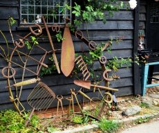 Creative cart-wheel