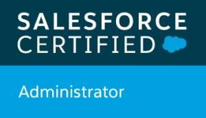 Salesforce Admin Certificate Logo