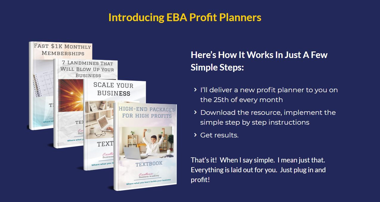 EBA Profit Planners https://lovingmarketing.com/EBApp