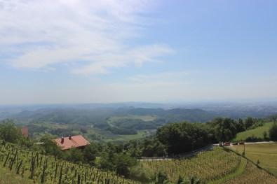 The views were stunning