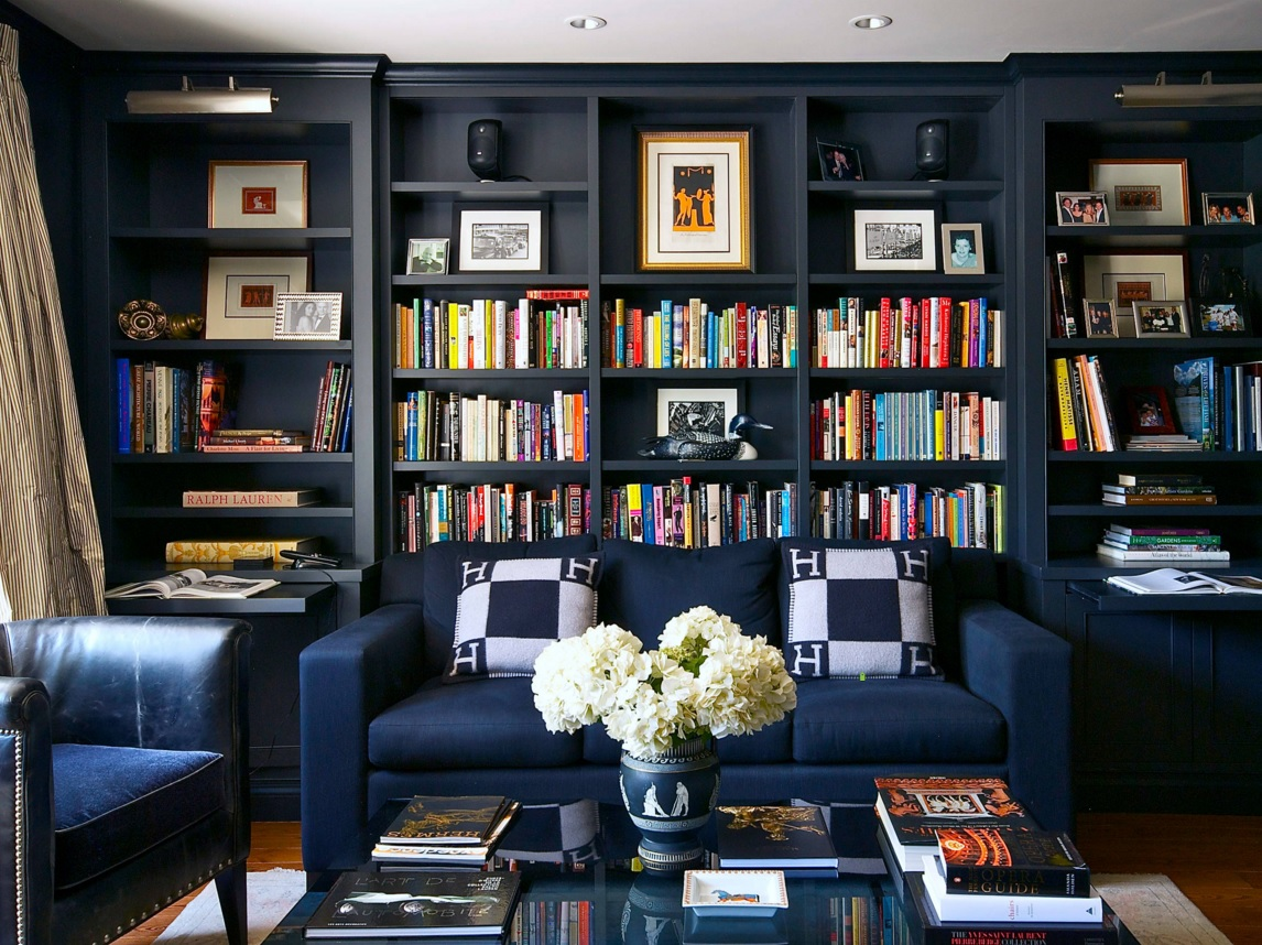 Blue Color Decoration Ideas For Living Room