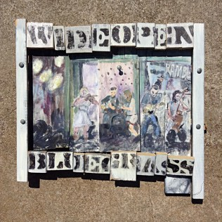Wideopen Blugrass Raleigh NC Mixed Media art