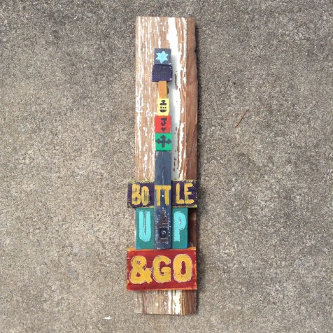 bottle up and go art