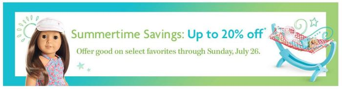 AG Sale: Summertime Savings 2015
