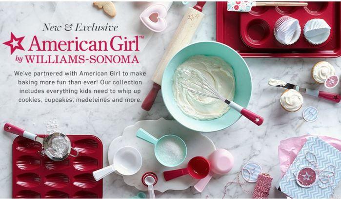 American Girl's William Sonoma Collection