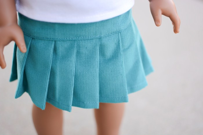 Sewing: Another Pleated Skirt