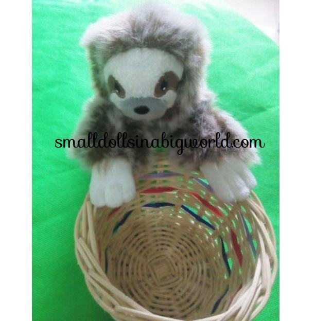 Lea's Baby Sloth Ebay Listing