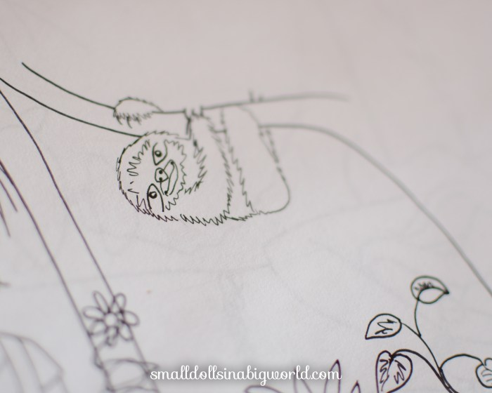 Coloring Page Sneak Peeks – January 2016